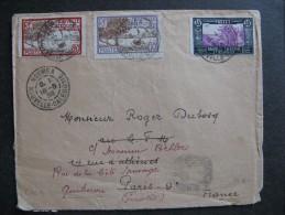 Col2.  TB Enveloppe De Nouméa à Paris. Datée Du 16/05/1938. - Neukaledonien