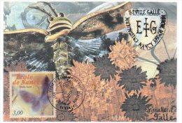 REF 188  :  CPM Maximum Timbre Premier Jour Ecole De Nancy Gallé - Briefmarken (Abbildungen)