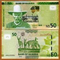 Namibia 50 Dollars 2012 Pick 13 UNC - Namibia