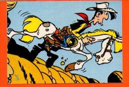LUCKY LUKE Et Ses Compagnons N°24-017-26 (non écrite) éditions Yvon - Bandes Dessinées