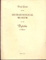 Brochure  Tourisme Toerisme - Guide Archeological Museum Bijloke Gent 1953 - Vieux Papiers