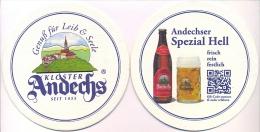 #D89-046 Viltje Andechser Klosterbiere - Sous-bocks