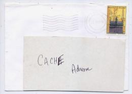 """1997---Lettre De Belgique (PILZEN) Pour La France--timbre """"'Maison Du Roi"""" Seul Sur Lettre - Covers & Documents"""