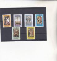GRENADE : Tableaux De Maitres : Y&T : O : 151 à 156 - Grenada (...-1974)