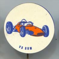 Car Racing, Race, V8 BRM, Metal, Pin, Badge - Automobile - F1