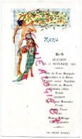 36 - VALENCAY - BEAU MENU  DEJEUNER DU 21 SEPTEMBRE 1931-  - IMPRIMEUR GUILLOT - Menus