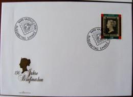 Liechtenstein 150 Years Stamps Penny Black - Postzegels Op Postzegels