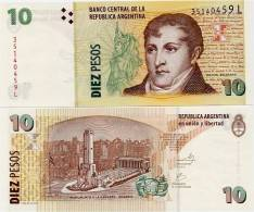 ARGENTINA    10 Pesos    P-354    ND (2002)    UNC  [sign. Marco-Fellner] - Argentine