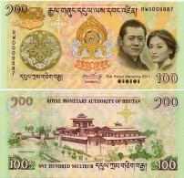 BHUTAN       100 Ngultrum      Comm.      P-35       2011       UNC - Bhutan