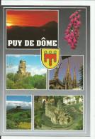 CPM CARTE POSTALE MODERNE - 63 - Puy De Dôme - Frankreich
