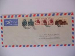 Afrique Du Sud Lettre De Johannesburg 1960 Pour Luzern - Afrique Du Sud (1961-...)
