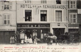 BRUYERES-EN-VOSGES HOTEL DE LA RENAISSANCE ANIMEE SA DILIGENCE - Bruyeres