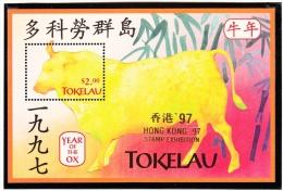 Michel Bl 10 I - cote 4.50 - XX - Hong Kong 1997  -  ox