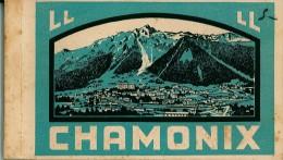 Carnet Incomplet - 13 Cartes Postales Anciennes Sur CHAMONIX  Et Environs - Chamonix-Mont-Blanc