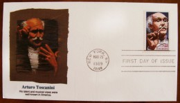 USA Arturo Toscanini - Celebrità