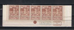 72 XX    -   STRIP  DE  5  -   PARFAIT   -     COTE :  110 €    *   LIMITE :  19.99 € - 1894-1896 Exhibitions