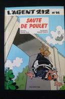 Agent 212, Tome 14   Sauté De Poulet 1993 Etat Excellent - Agent 212, L'