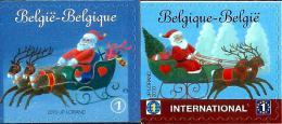 Belgium - 2010 - Christmas - Mint Self-adhesive Booklet Stamp Set - Belgium