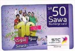 ARABIA SAUDITA (SAUDI ARABIA)  - STC  (RECHARGE GSM)   - 50 PEOPLE- USED   -   RIF. 8727 - Arabia Saudita
