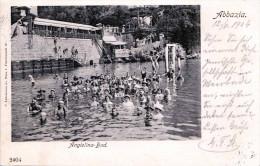 ABBAZIA - Angiolina-Bad, Karte Gel.1904 - Jugoslawien