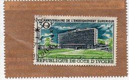 LOT DE 7 TIMBRES - Costa D'Avorio (1960-...)