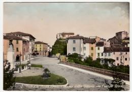 S. MARIA A MONTE - PISA - PIAZZA DELLA VITTORIA CON L'ANTICA ROCCA - Primi Colori - Pisa