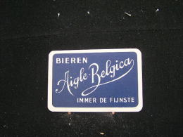 Playing Cards / Carte A Jouer / 1 Dos De Cartes Brasserie - Brouwerij / Aigle-Belgica, Brugge - Speelkaarten