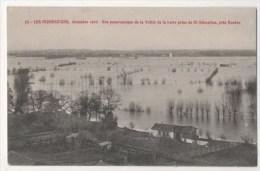 Vue Panoramique De La Vallée De La Loire Prise De ST SEBASTIEN, Près Nantes - Inondations, Décembre 1910 - Saint-Sébastien-sur-Loire