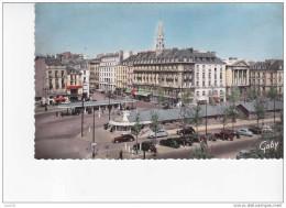 NANTES -  La Place Du Commerce  -   Véhicules  Anciens   -   N°   100   . - Nantes