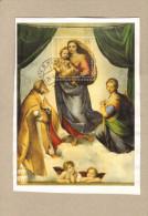 Germany BRD Bund 2012, 500 Jahre Sixtinische Madonna Gestempelt 26.9.12 In Haste B.Wunstorf Briefstück - [7] République Fédérale