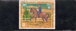 LOT DE 2 TIMBRES - Äquatorial-Guinea