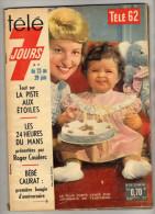 Télé 7 Jours - N°118- Bébé Caurat- 24 Heures Du Mans- Jazy Par Marcillac- Brigitte Bardot- Jacqueline Huet - Télévision
