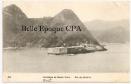 Brésil / BRASIL - RIO De JANEIRO - Fortaleza De Santa Cruz ++++ To WORCESTER, Massachusetts, USA, 1906 - Brasile