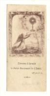 Image Religieuse, Adoron à Jamais, Le Saint Sacrement De L'Autel - Devotieprenten