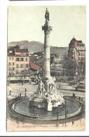 Cp, 13, Marseille, Fontaine Cantini, écrite - Marsiglia