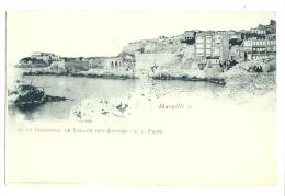 Cp, 13, Marseille, La Corniche, Le Vallon Des Auffes - Marseille