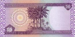 IRAQ P. 90 50 D 2003 UNC (10 billets)