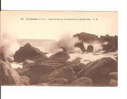 44 LE CROISIC / N° 734 Coup De Mer Sur Les Brisants De La Grande Côte / CPA BRUEL VIERGE / TTBE - Le Croisic