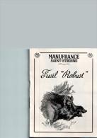 Notice D´emploi Du FUSIL ROBUST - MANUFRANCE St-Etienne 42000 Loire - 1900 – 1949