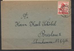 S226.-.GERMANY  REICH COVER - MI # : 906.-. BRESLAU 20-11-44  .-. LOCAL USE - Briefe U. Dokumente
