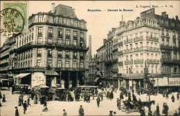 Bruxelles -  Devant La Bourse : Belle Animation - Zonder Classificatie