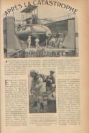 """Article Paru En 1905 """"Après La Catastrophe Du Farfadet"""", Scaphandrier, Sous-marin, Hydroscope Pino, Elévateur, TBE - Documentos Antiguos"""