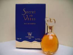 """WEIL """" SECRET DE VENUS"""" MINI EDP 5 ML - Miniatures Modernes (à Partir De 1961)"""