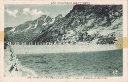 CPA Gabas-Artouste Lac D'Artouste, Le Barrage - France