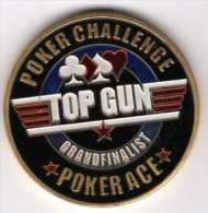 Poker Card-Guard : Protects The Cards In Your Hand : Poker Challenge TOP GUN Grandfinalist - Casino
