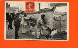 Bateaux -  La Vie Du Marin - Matelos Peintres (petite Coupure En Bas) - Bateaux