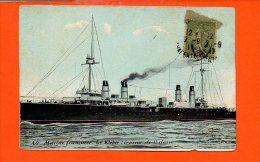 Bateaux - Marine Française Le Kléber, Croiseur De 1ère Classe - Guerre