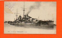 """Bateaux - Le Cuirassé """"Bretagne"""" - Guerre"""