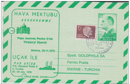 TURQUIE - 1979 - AEROGRAMME - Turkey