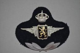 Insigne De Coiffure Armée Belge - Aviation